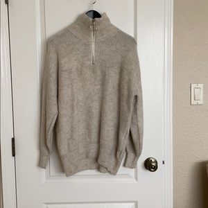 H&M Sweater with Zipper
